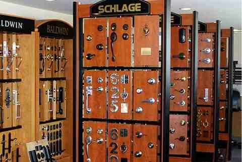 Door Hardware Showroom