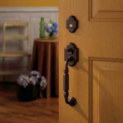Brown Door Handleset