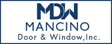 Mancino Door & Window, Inc. Official Logo